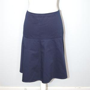 (Lauren Ralph Lauren) Blue Drop Waist Skirt